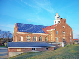 Solar at Good Will Hinckley school in Maine